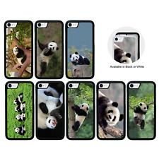 Panda parachoques caso para Apple iPhone 5 5s SE 6 6s 7 8 XS 10 11 PRO PLUS X MAX XR
