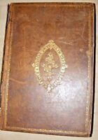 ANTIQUE LARGE WELSH FAMILY BIBLE LEATHER BOUND BY PETER WILLIAMS ENGRAVED PLATES