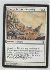 2005 Magic: The Gathering - Saviors of Kamigawa #4 Charge Across the Araba 0a1