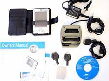 2002 Dell Axim X5 Pocket Pc Palm: Pa-14 Charger + Hd01U & Hd02U Cradle & Case