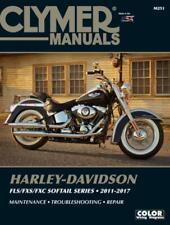 Clymer M250 Service Manual for 2006-10 Harley Davidson Softail FLS FXS FXC M