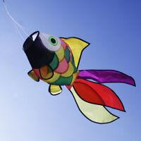 Rainbow Vivid   Kite Tail Windsock Wind Spinner Outdoor Toy Garden Decor