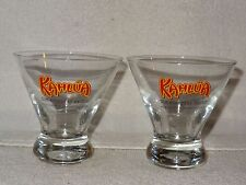Pair Skinny Weighted Bottoms Kahlua The Everyday Exotic Whiskey Glasses