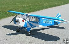 "63 ""  1600mm  1/6 Clipped Wing Cub .48 Scale Airplane  BLUE -- NEW IN BOX"