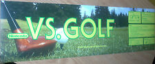 Nintendo Vs. Golf Arcade Sticker Marquee - Free Shipping!