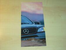 28288) Mercedes M-Klasse Preise & Extras Prospekt 1997