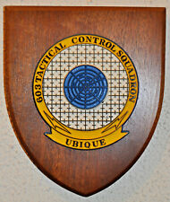 United States Air Force 603rd Tactical Control Squadron plaque shield USAF TCS