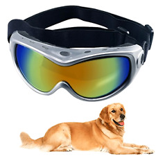 Dog Goggles Sunglasses Pet Glasses Ski Goggles Big Dogs Eye Wear UV Protection