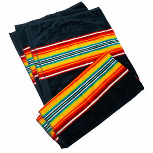 "Pendleton Beach Spa Oversize Towel Bath Sheet Southwestern Mexico Stripe 40""x70"""
