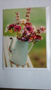 Beautiful coloured flowers in jug by Beautiful blanks suitable for all occasions