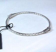 New John Hardy Dragon Bangle Bracelet Sterling Silver Size Medium $395
