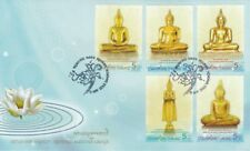 Thailand Highly Revered Buddha Image  2012 Religious (stamp FDC)