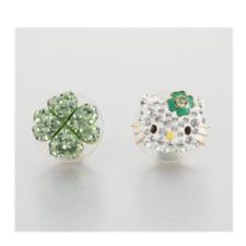 Swarovski original authorized earrings earring HELLO KITTY clover 5353477