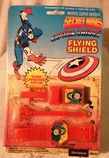 1984- Secret Wars - Rare Captain America Flying Shield -wrist Launch FLEETWOOD