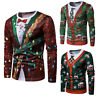 Unisex Ugly Christmas Sweater Funny Ugly Women Men Xmas Pullover Sweatshirt Tops