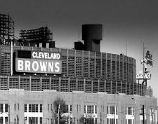 Cleveland Stadium Cleveland Browns Cleveland Indians Original Signed 11x14 Print