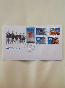 2007 - Australia - Year of the Surf Lifesaver Hologram FDC