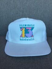 Vtg Kinsmen Telemiracle 13 1989 Snap Back Hat 80's Canada Saskatchewan SK