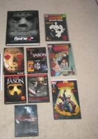 Friday the 13th Lot Jason Voorhees Books/Comics/DVDs
