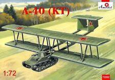 Amodel 1/72 Antonov A-40 (KT) Prototype Flying Tank Using T-60 # 72202