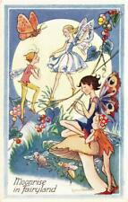 MOONRISE IN FAIRYLAND  Children FANTASY  L R STEELE  Postcard