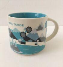 Starbucks 2013 Lake Tahoe You Are Here Collection YAH 14 oz Drink Coffee Tea Mug