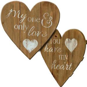 Heartwood Heart Plaque 34x34cm