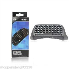 Mini Bluetooth Wireless Chat pad Keyboard For Sony PlayStation 4,PS4 Controller