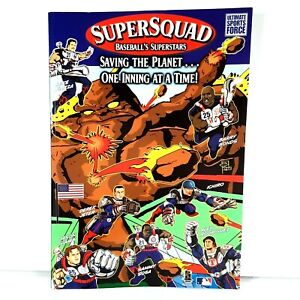 Super Squad Baseball's Superstars Saving the Planet...One Inning at a Time Comic