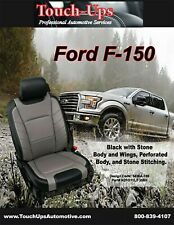 2015 2018 Ford F150 Xlt Supercrew Leather Seat Covers Limited Design Black Gray