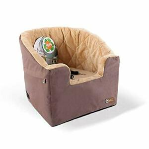 """K&H Pet Products Bucket Booster Dog Car Seat Small Tan 14.5"""" x 20"""""""