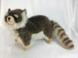 "? Thomas Boland Hansa Realistic Raccoon Plush Stuffed Animal Toy 27"" Poseable"