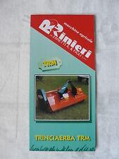 0379) Rinieri Italia-trinciaerba TRM-PROSPEKT BROCHURE