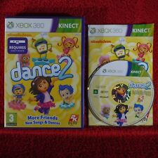 NICKELODEON DANCE 2 - Microsoft Xbox 360 ~PAL~3+ Requires Kinect!