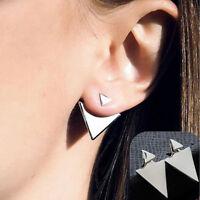 Girls For Women Party Wedding Ear Stud Triangle Earrings Ear Ring Jewelry