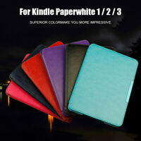 Skin Cover Protective Shell Smart Case For Amazon Kindle Paperwhite 1 2 3