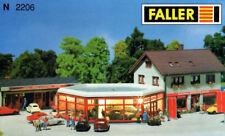 * Faller Scala N  2206 Edifizio, autosalone con officiana Nuovo OVP