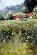 Fermanagh Landscape C IMPRESSIONIST OIL PAINTING  by Irish Artist JAYNE DALEY