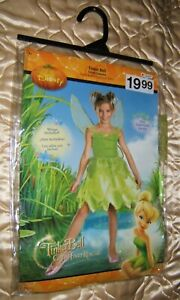 Tinker Bell Child Costume Great Fairy Rescue *2012 New