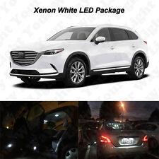 12 x White LED Interior Bulbs + Reverse + Tag Lights For 2016 2017 Mazda CX-9