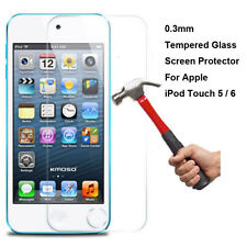 3PCS-Pack Tempered Glass Screen Protector For Apple iPod Touch 5 6 (5th/6th) Gen