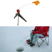 Durable Winter Ice Fishing Rod Hand-free Compact Pole Fishing Tackle Equipment