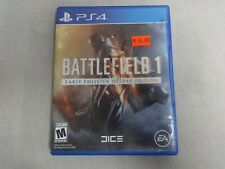 Battlefield 1 Early Enlister Deluxe Ed. Sony Playstation 4 PS4 Game Complete