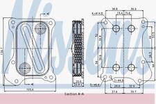 NISSENS 90700 Ölkühler Fiat Grande Punto 05
