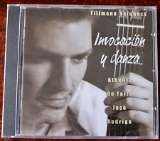 TILLMAN REINBECK INVOCACION Y DANZA GUITAR CD ACOUSTIC (2002) SEALED GERMANY