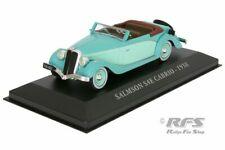 Salmson S4E Cabriolet 1938 Turquoise 1:43 IXO ALTAYA NEW