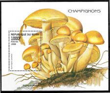 FLA046 1998 Benin mushrooms FLORA VF MNH