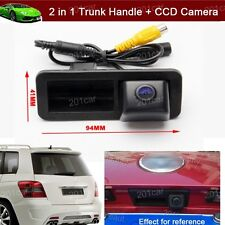 Car Trunk Handle + CCD Reverse Parking Camera For Ford Focus hatchback 2009-2011