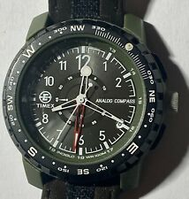 Timex Analog Compass Mens Watch 301 PO