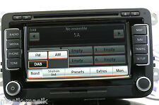 VW RNS 510 DAB+ LED SSD SW 6276 HW H30 ORIGINAL 1T0 035 686 E NEW 2017 V14 MAPS